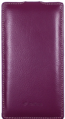 Чехол Melkco Leather Case для Samsung Galaxy Alpha G850 Purple