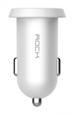 Rock Ditor Car Charger 2 USB 2.4A (RCC0108) White