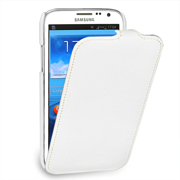 Чехол TETDED Premium Leather Case для Samsung Galaxy Note 2 N7100 / N7108 Troyes White