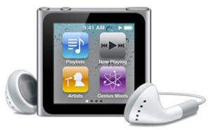 Apple iPod nano 6 8Gb Silver