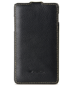 Чехол Melkco Leather Case для Samsung Galaxy S4 mini i9190 Jacka Type Black