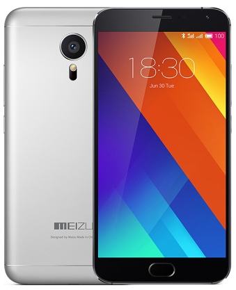 Meizu MX5 16Gb LTE Silver/Black