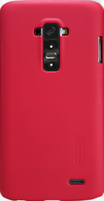 Чехол Nillkin Super Frosted Shield для LG G Flex D958 Red