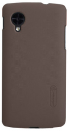 Чехол Nillkin Super Frosted Shield для Nexus 5 Brown