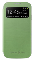 Чехол Flip Cover для Samsung Galaxy S4 mini i9190 Green