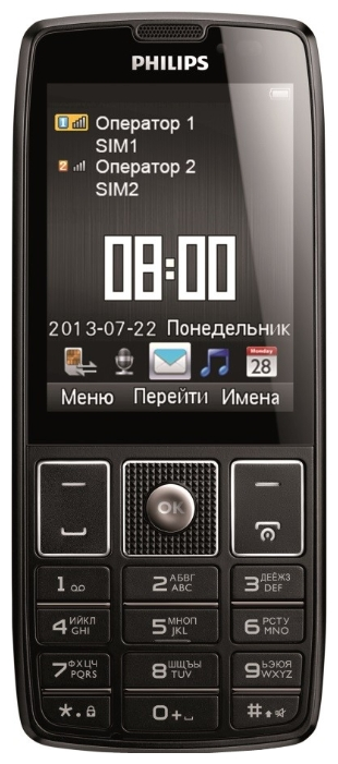 Philips Xenium X5500 Black РСТ