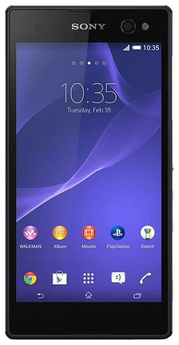 Sony Xperia C3 D2533 LTE Black РСТ