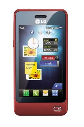 LG GD510 Red