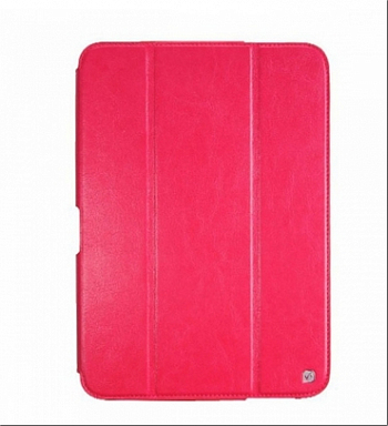 Чехол HOCO Crystal Series Leather Case для Samsung Galaxy Tab3 10.0 P5200/P5210 Rose Red