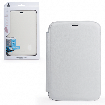 Чехол Melkco Leather case for Samsung N5100/n5120/n5110 Galaxy Note 8.0 Kios Type White