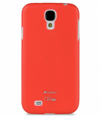 Накладка на заднюю часть Melkco Ultra Air TPU 0.5 mm для Samsung Galaxy S4 I9500 / I9505 Red