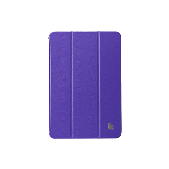Чехол JisonCase Smart Leather Case для iPad mini Purple