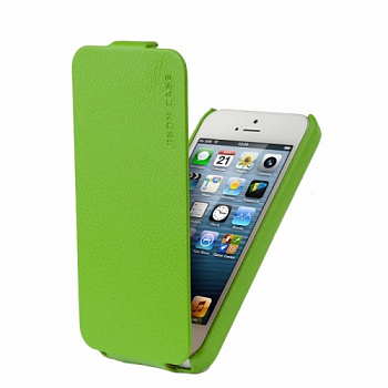 Чехол JISONCASE executive для iPhone 5/5S Green