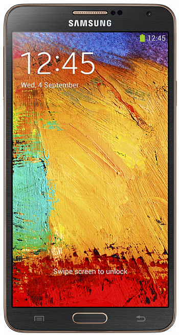 Samsung N9005 Galaxy Note 3 32Gb 4G LTE Black Gold