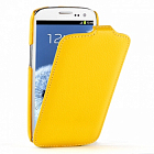 Чехол TETDED Premium Leather Case для Samsung Galaxy S3 / SIII Mini I8190 Troyes Yellow