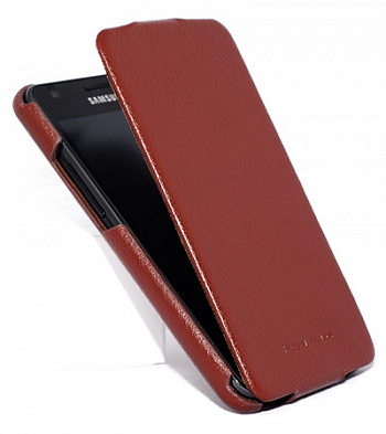 Чехол для Samsung Galaxy S II i9100 Hoco Case Leather Case Brown