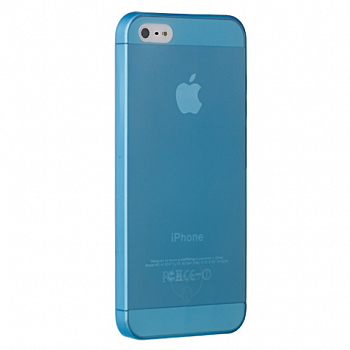 Чехол OZAKI для Apple IPhone 5 O!coat 0.3 JELLY Blue