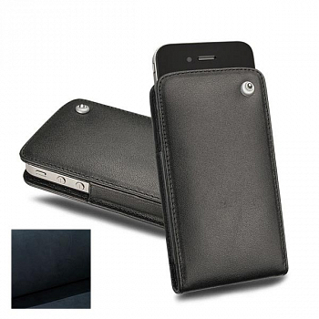 Noreve Housse Cuir Tradition C Dark Vintage for iPhone 4