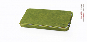 Чехол BOROFONE General leather case for IPhone 5 Green