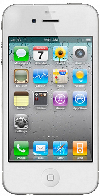 Apple IPhone 4 32GB White РСТ