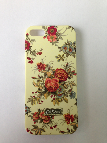 Чехол для Apple iPhone 5 Cath Kidston Lacquered Shell Case Flowers 1