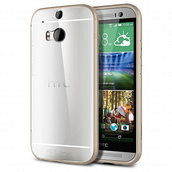 Накладка Rock для HTC One M8 Ultrathin Series Transporent