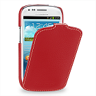 Чехол TETDED Premium Leather Case для Samsung Galaxy S3 / SIII Mini I8190 Troyes Red