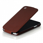 Чехол Hoco Royal Series Duke Leather case for Samsung I9500 Brown