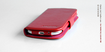 Чехол BOROFONE Classic leather case for Samsung Galaxy S3(i9300) Red