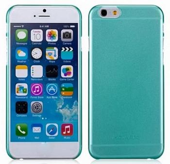 Накладка Momax Clear Breeze Case для Iphone 6/6S 4.7 Green