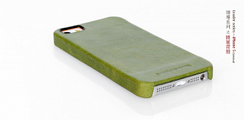 Чехол Borofone General CoverCase back для Apple iPhone 5 Green