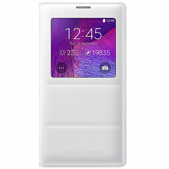 Чехол Samsung EP-VN910IWRGRU Wireless Charging для Galaxy Note 4 n910 White