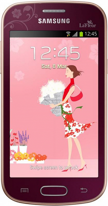 Samsung S7390 Galaxy TREND La Fleur Red РСТ