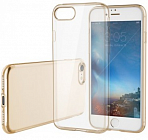 Накладка Rock Ultrathin Slim Jacked для Iphone 7 Plus Transparent/Gold