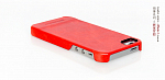 Чехол Borofone General CoverCase back для Apple iPhone 5 Red