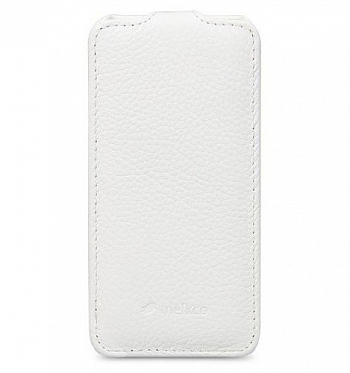 Чехол Melkco Leather Case для HTC One Mini M4 Jacka Type White LC