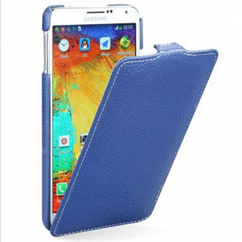 Чехол Melkco Leather Case для Samsung Galaxy Note 3 Neo N7505 Jacka Type Dark Blue