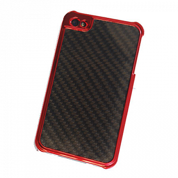ION Stealth Predator Metallic Red for iPhone 4