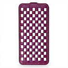 Чехол TETDED Premium Leather Case для Samsung Galaxy S4 / IV / I9500 / I9505 / Active I9295 i537 Troyes Weave: Purple072