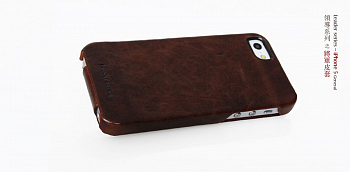 Чехол BOROFONE General leather case for IPhone 5 Coffee