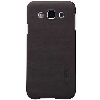 Чехол Nillkin Super Frosted Shield для Samsung Galaxy E5 E500H Brown