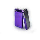 ION Zero Iridium Cover Violet for iPhone 4