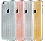 Накладка Rock Fla Series для Iphone 6/6S 4.7 Transparent/Gold