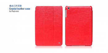 Чехол HOCO Crystal Leather Series IPad mini красный