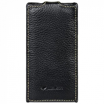 Чехол Melkco Leather Case for Sony Xperia E Jacka Type (Black LC)