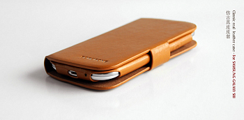 Чехол BOROFONE Classic leather case for Samsung Galaxy S3(i9300) Brown