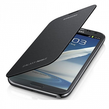 Чехол Flip Cover для Samsung GALAXY Note II Grey