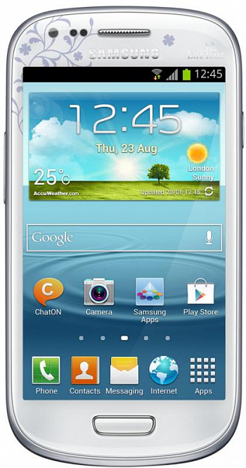 Samsung I8190 Galaxy S III mini 8Gb White La Fleur