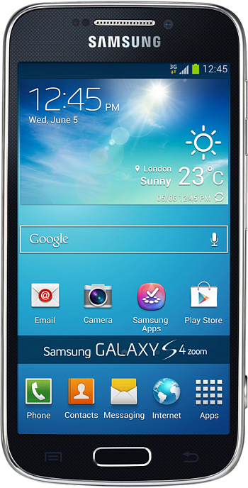 Samsung C105 Galaxy S4 Zoom 4G Black