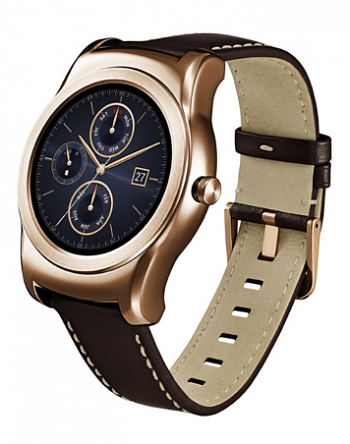 Умные часы LG Watch Urbane W150 Gold